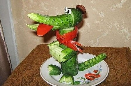 Крокодил на Новый год