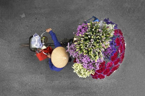 Я везу тебе цветы!