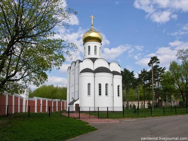 Храм Пимена в Дзержинском