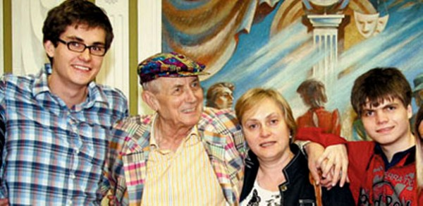 Евтушенко и сыновья 1