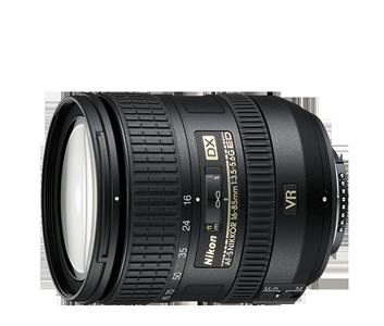AF-S DX NIKKOR 16–85мм f/3.5–5.6G ED VR