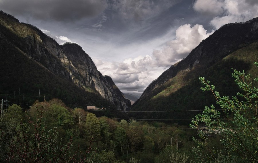 Горные водопады Сочи