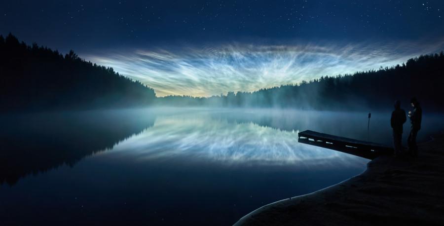 ДУХ ПРИКЛЮЧЕНИЙ. Серебристые облака над Санкт-Петербургом