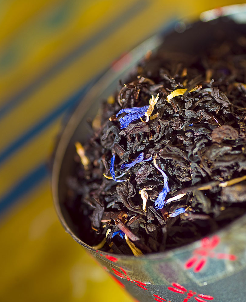 голубой чай фото