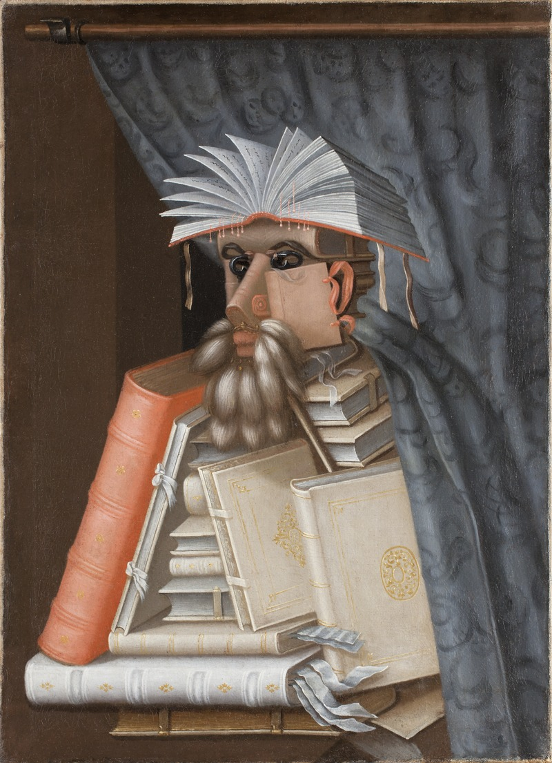 Джузеппе Арчимбольдо. Библиотекарь. 1562