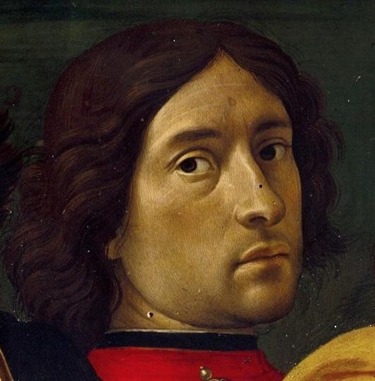 Доменико Гирландайо. Автопортрет (Фрагмент фрески)