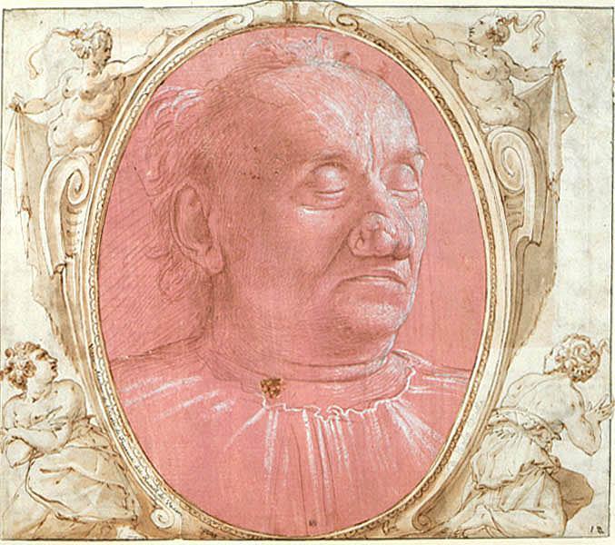 Доменико Гирландайо. Посмертный портрет пожилого мужчины