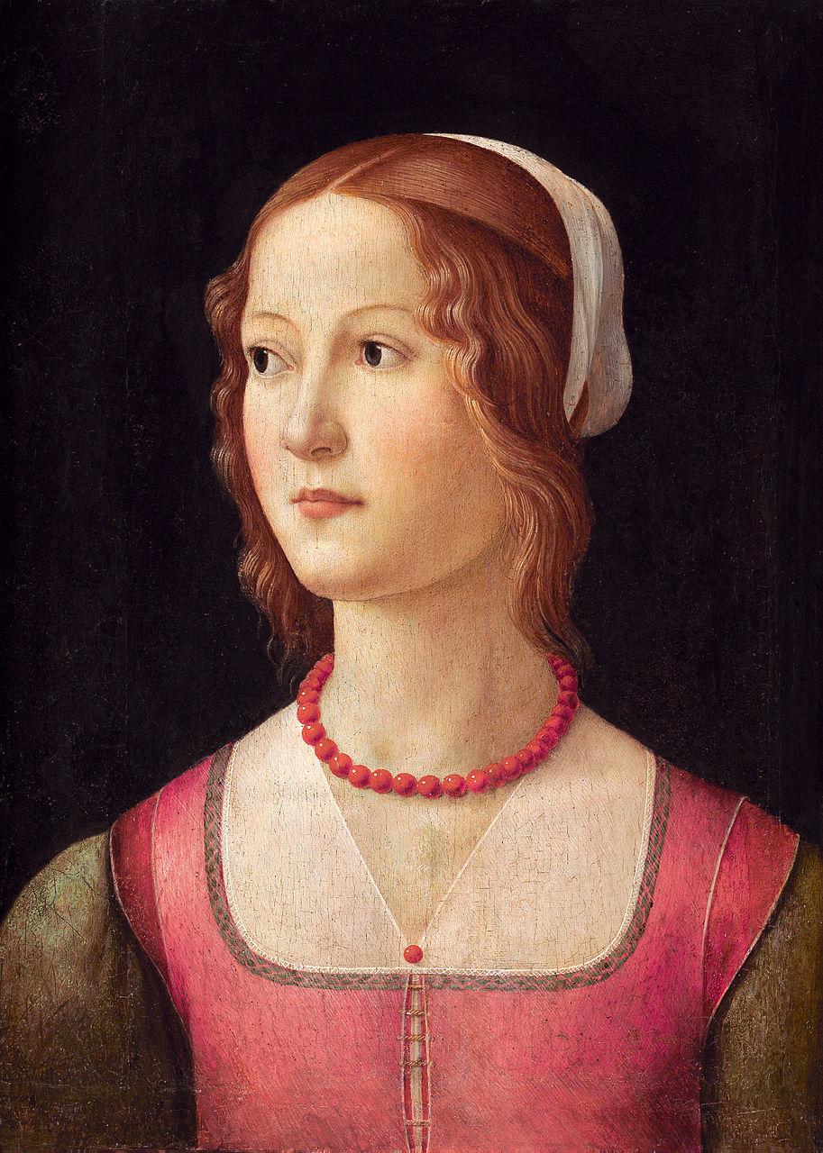 Доменико Гирландайо. Портрет молодой девушки. Ок. 1490
