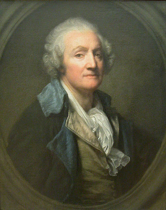 Жан Батист Грез. Автопортрет. 1769