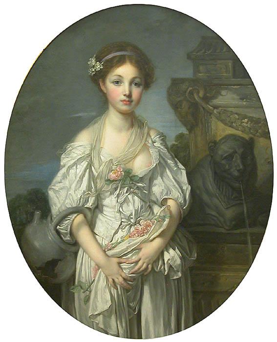 Жан Батист Грез. Разбитый кувшин. Ок.1771-72