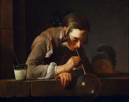Жан Батист Симон Шарден. Мыльные пузыри. 1734
