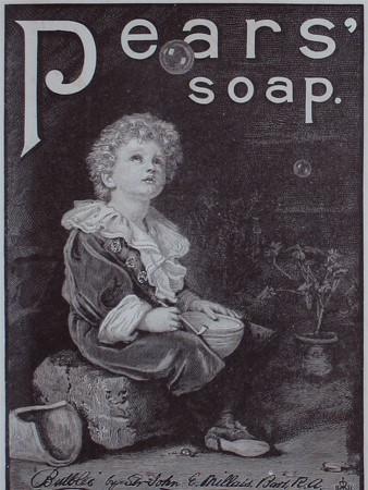 """Реклама мыла """"Пирс"""". 1890-е гг."""