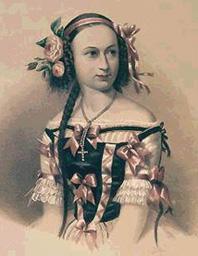 Елена Андреянова (знаменитая русская балерина, любовница А.М.Гедеонова)