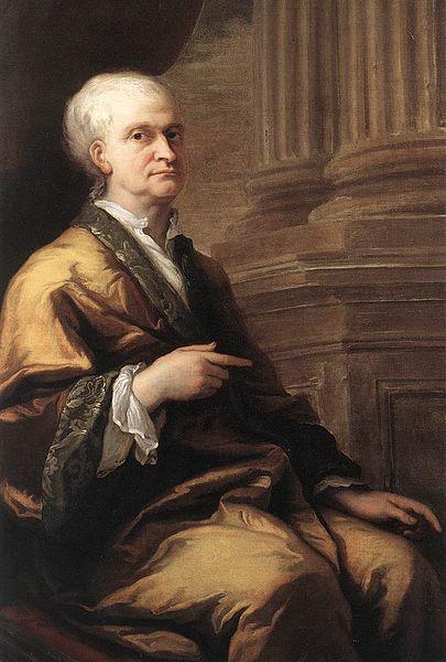Джеймс Торнхилл. Портрет сэра Исаака Ньютона. Между 1709 и 1712