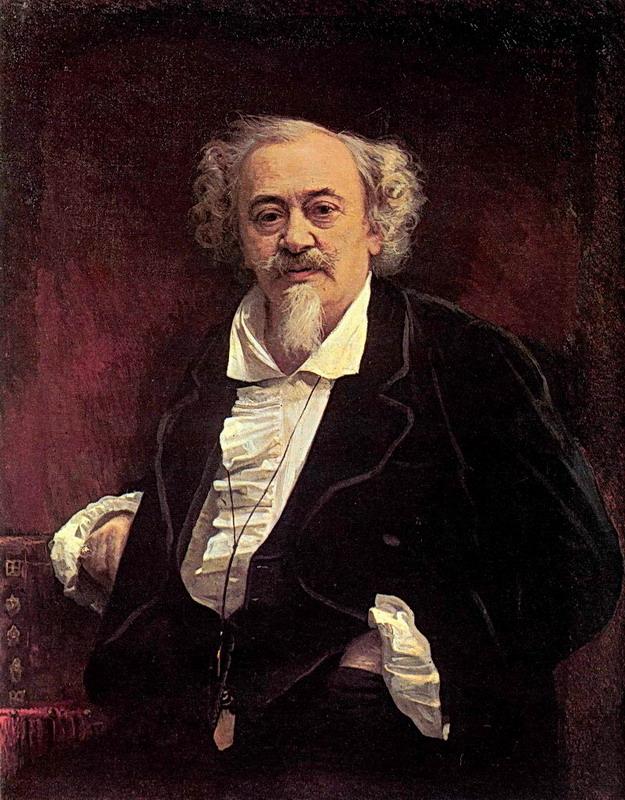 Иван Крамской. Портрет актера Василия Самойлова. 1881