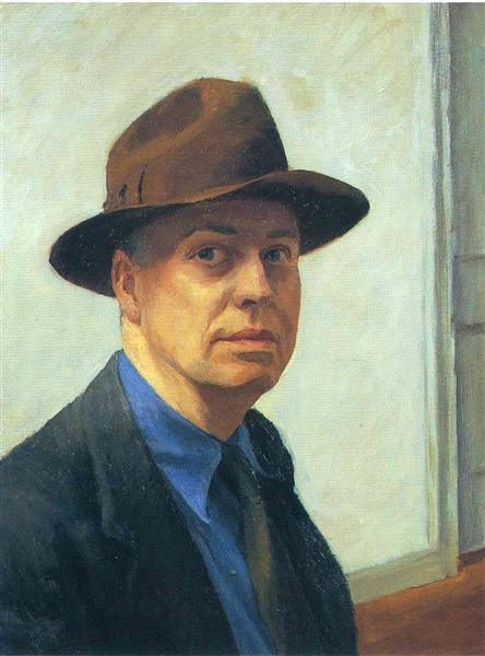 Эдвард Хоппер. Автопортрет. 1930