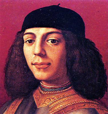 Аньоло Бронзино. Пьеро II ди Лоренцо де Медичи (Пьетро Глупый)
