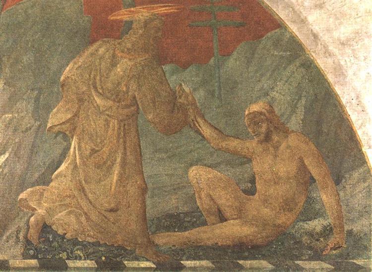 Паоло Уччелло. Сотворение Адама. Ок.1445