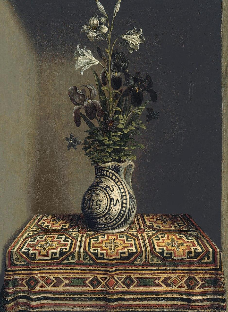 Ханс Мемлинг. Цветы в кувшине. Ок.1485