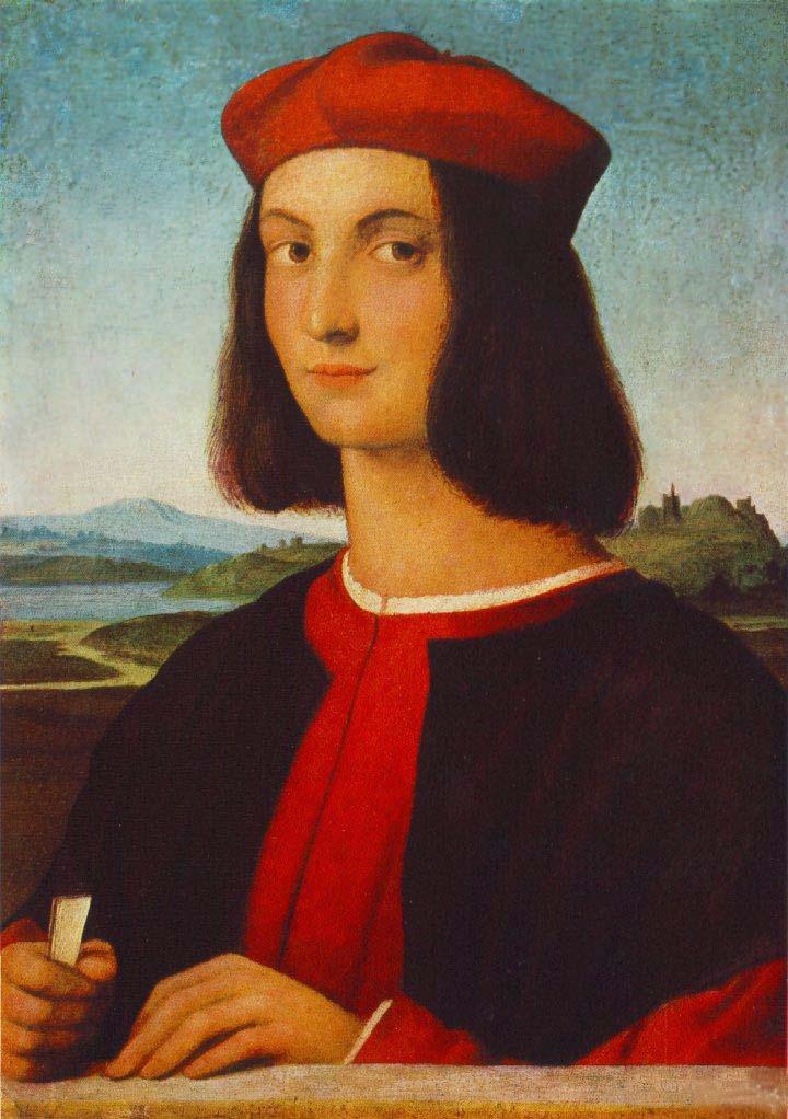 Рафаэль Санти. Портрет Пьетро Бембо. ок.1504
