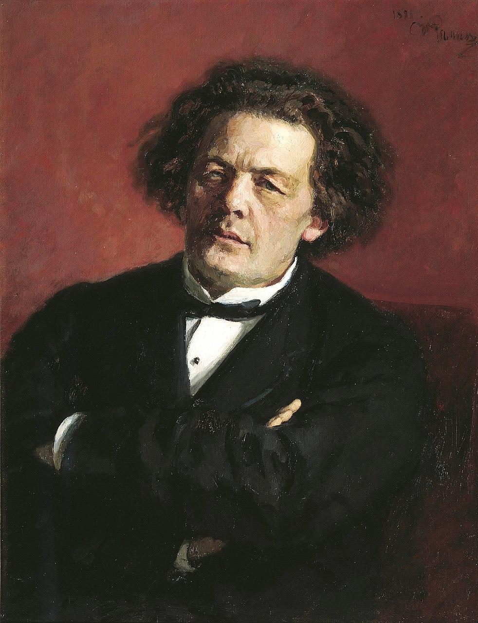 Илья Репин. Портрет Антона Рубинштейна. 1881