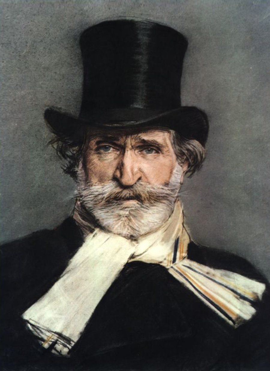 Джованни Болдини. Портрет Джузеппе Верди