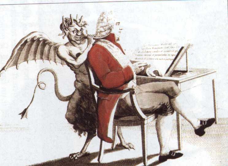 Господин Все-для-Всех. Карикатура на Талейрана. 1815