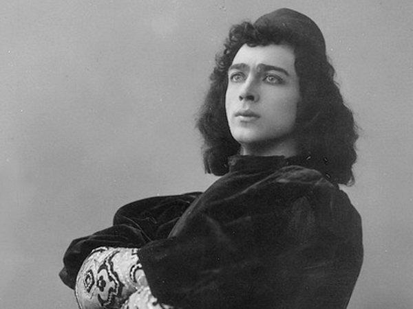 Александр Остужев в роли Ромео. 1900
