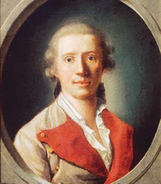 Филипп Фридрих фон Хетч. Фридрих Шиллер в форме полкового врача. 1781-82