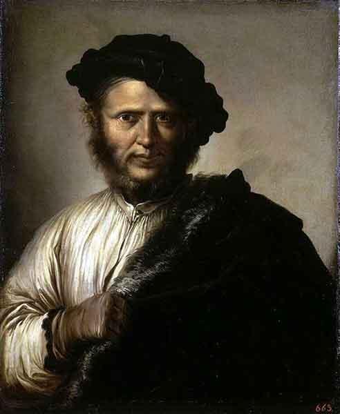 Сальвадор Роза. Мужской портрет (Портрет бандита). 1640-е