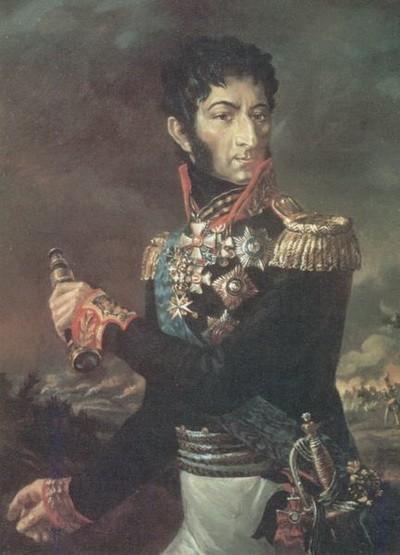 Неизвестный художник. Портрет генерала Петра Багратиона. Нач.19 в.