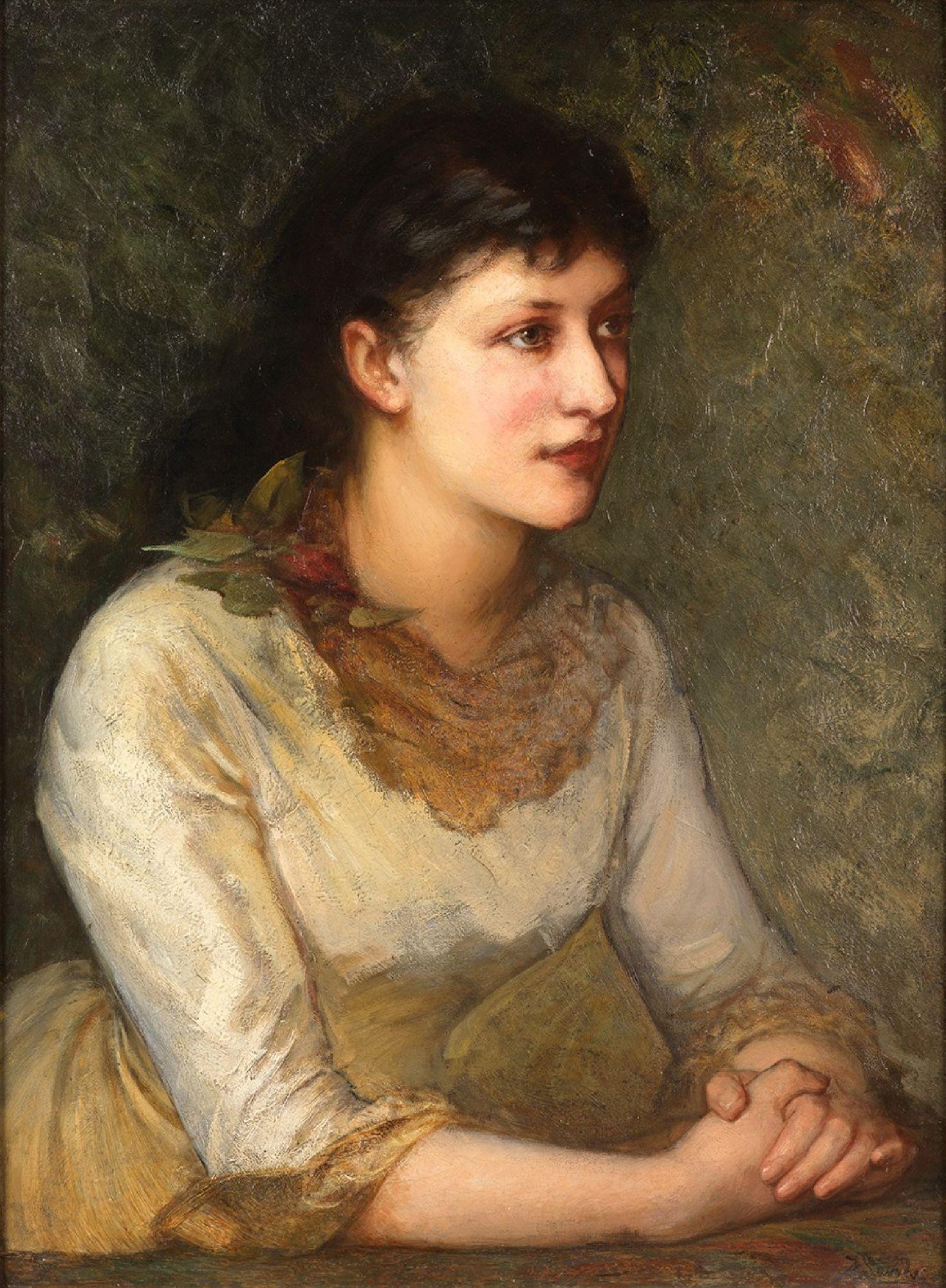 Фрэнк Майлз. Женский портрет