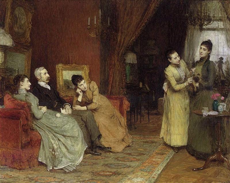 Уильям Куиллер Орчардсон. Семья Джозефа. 1890