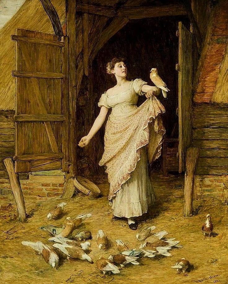 Уильям Куиллер Орчардсон. Дочь фермера. 1881
