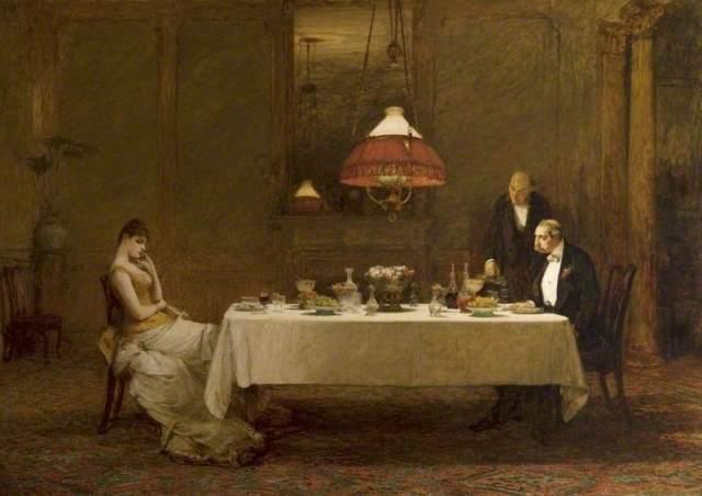Уильям Куиллер Орчардсон. Неравный брак. 1887