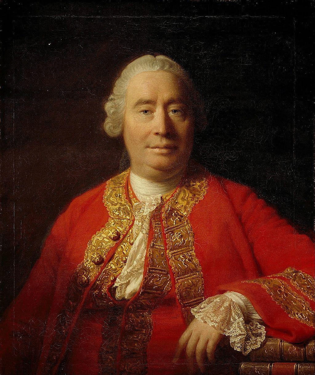 Аллан Рэмзи. Портрет Дэвида Юма. 1766