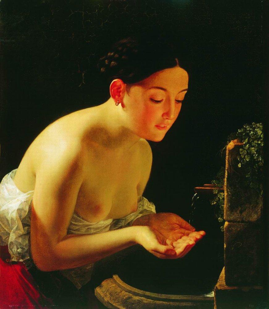 Карл Брюллов. Итальянское утро. 1823