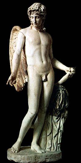 Эрос. Копия со статуи работы Праксителя