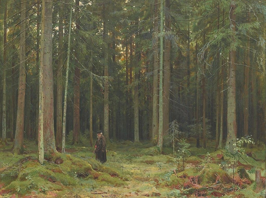 Иван Шишкин. В лесу графини Мордвиновой. 1891