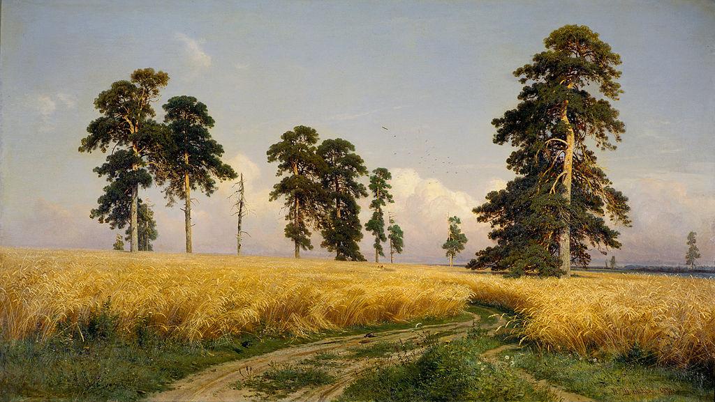 Иван Шишкин. Рожь. 1878