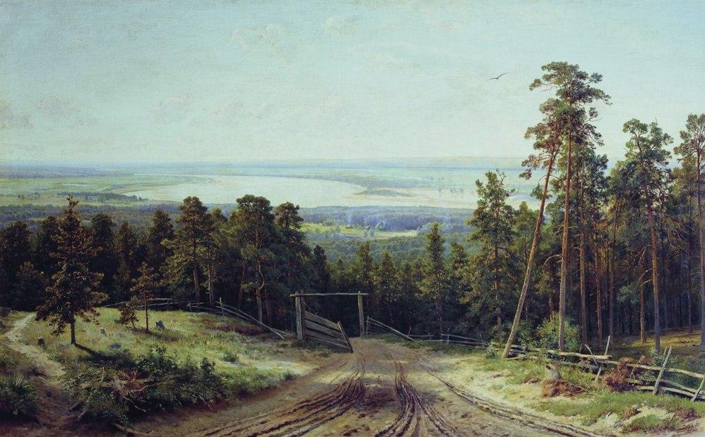Иван Шишкин. Кама близ Елабуги. 1895