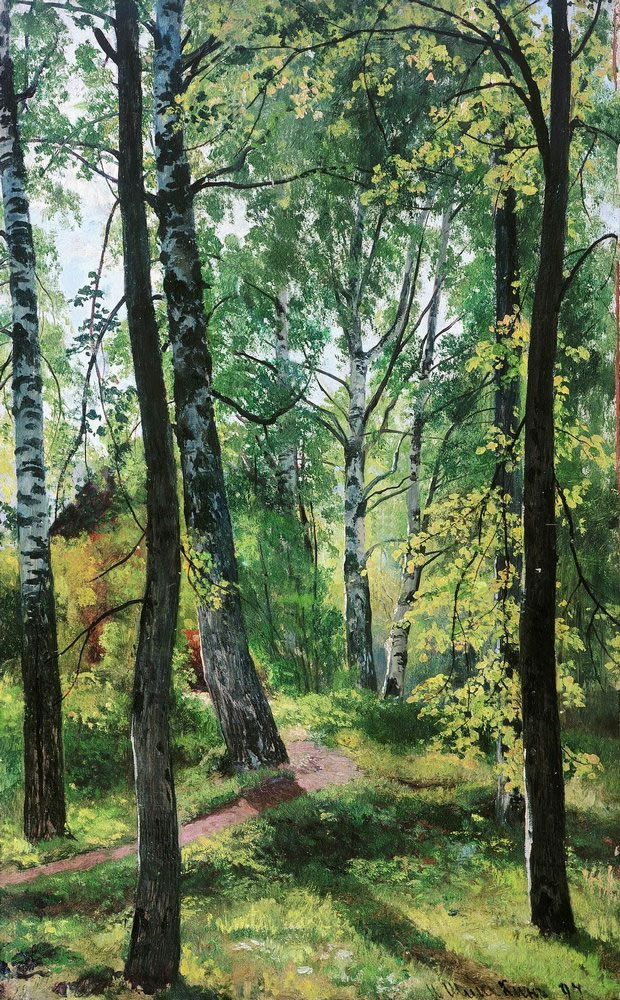 Иван Шишкин. Лиственный лес. 1897