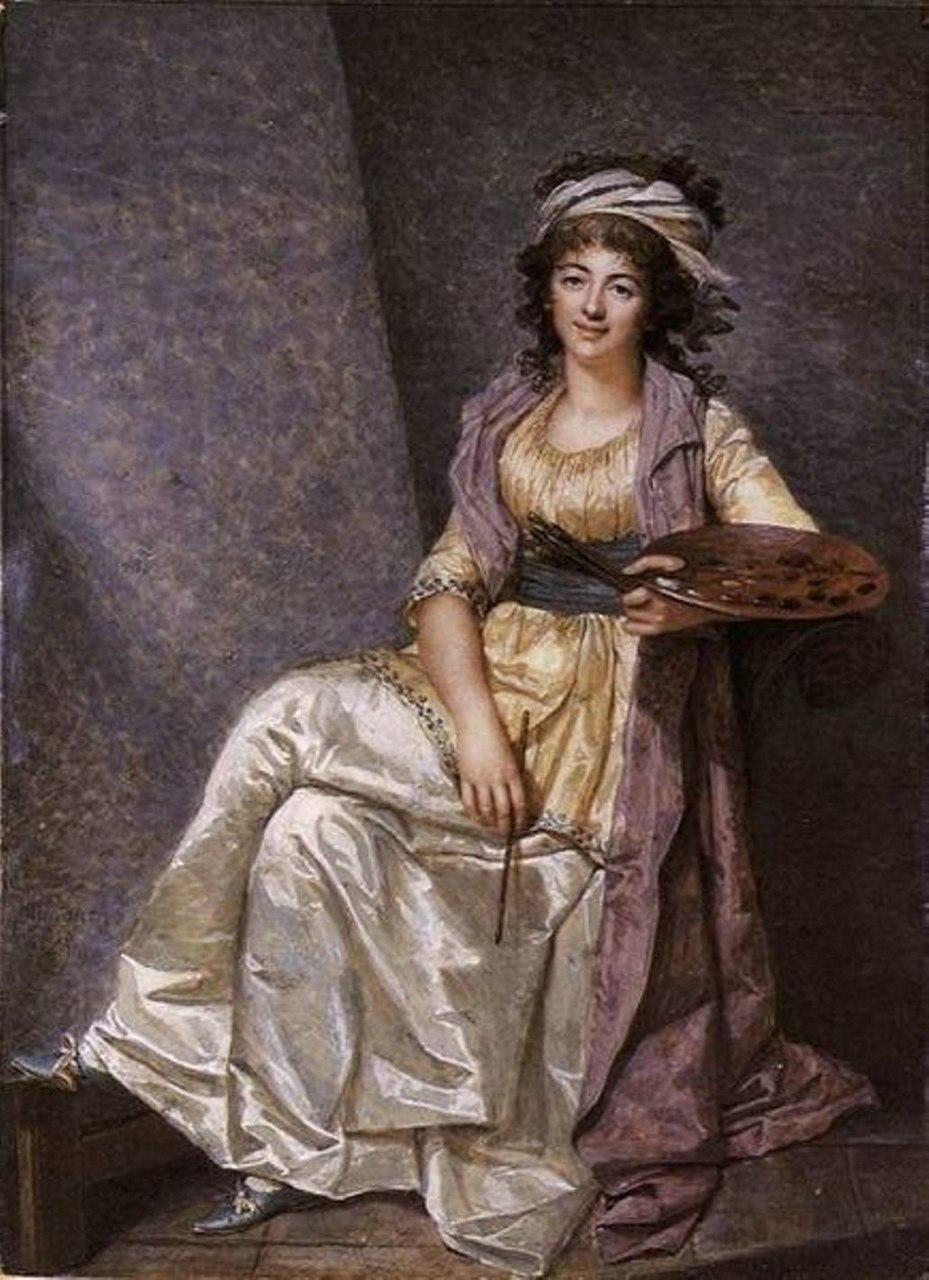 Франсуа Дюмон. Портрет Маргариты Жерар в 32 года. 1793