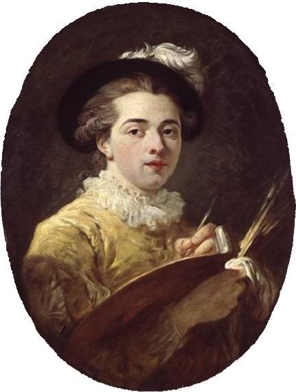 Жан Оноре Фрагонар. Автопортрет в ренессансном костюме