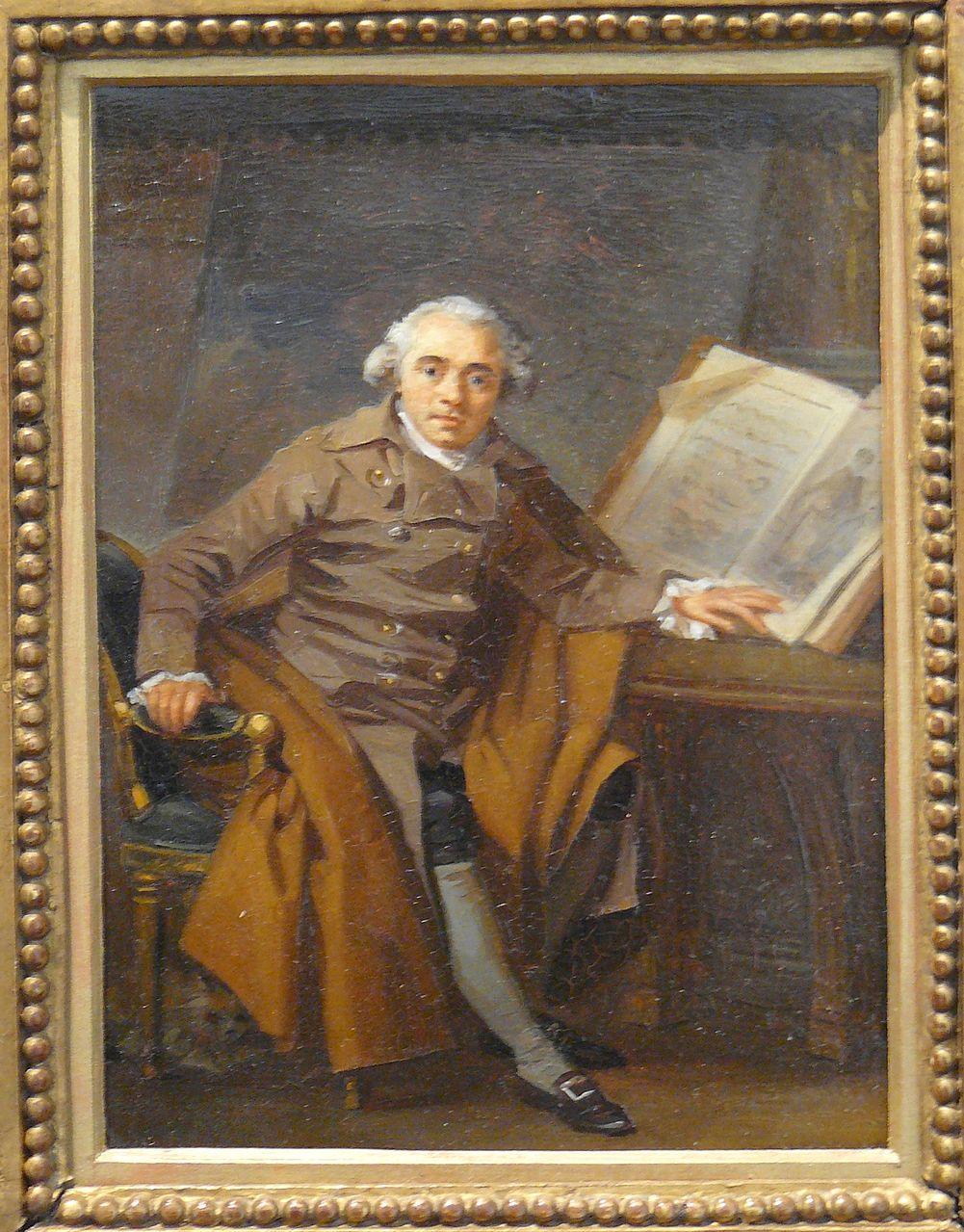 Маргарита Жерар. Портрет Жан-Жака Лагрене. 1787