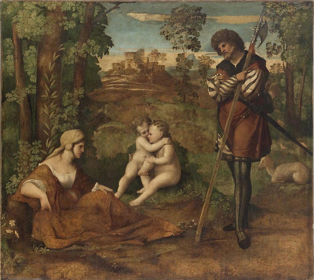 Якопо Пальма Старший. Аллегория. Ок.1515