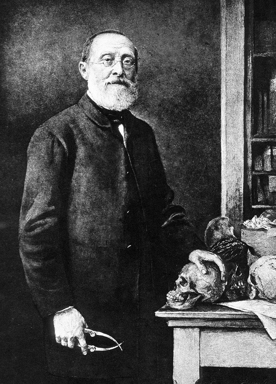 Ганс Фехнер. Портрет Рудольфа Вирхова. 1891