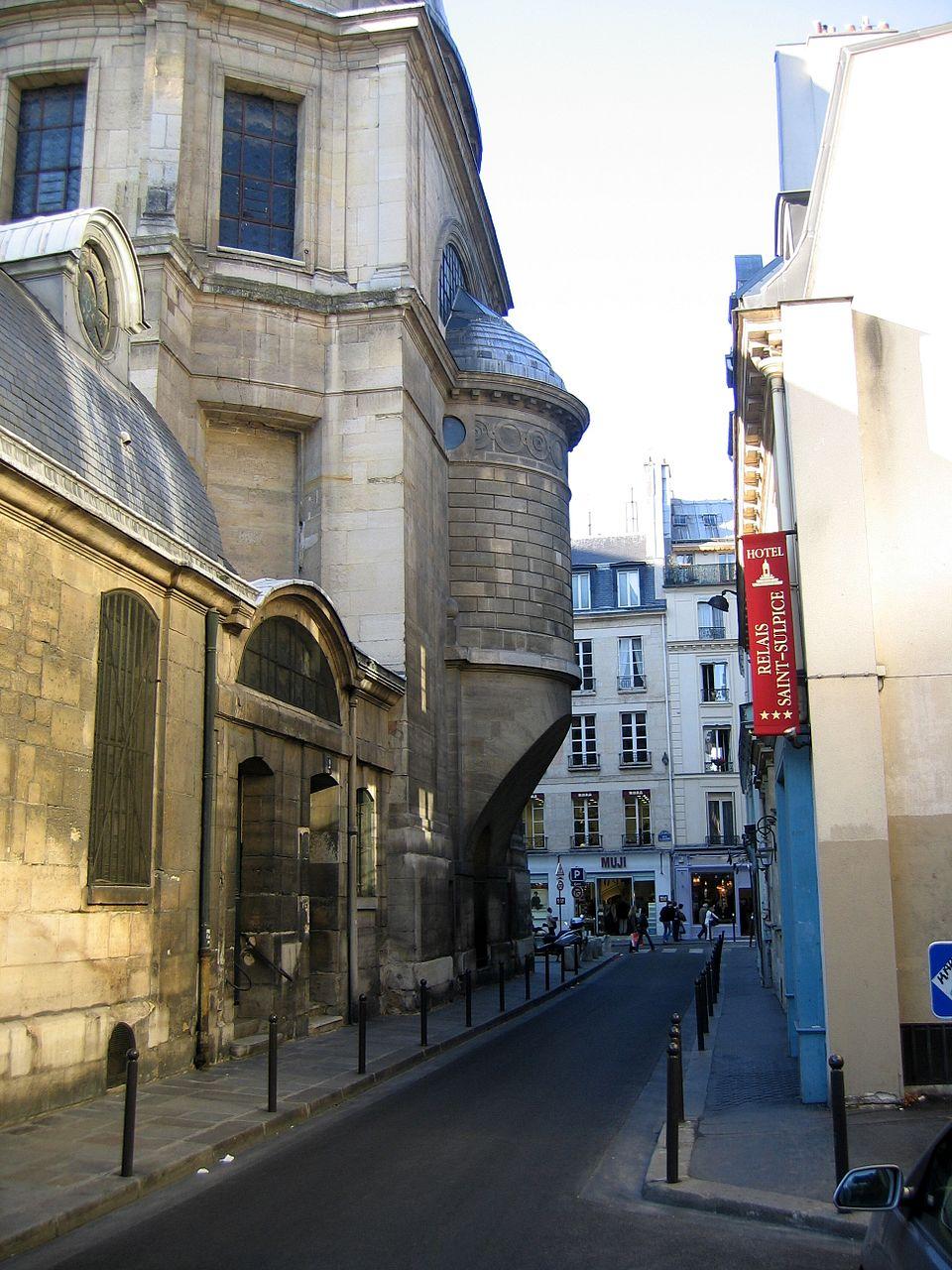 Улица Гарансьер в Париже. Современный вид