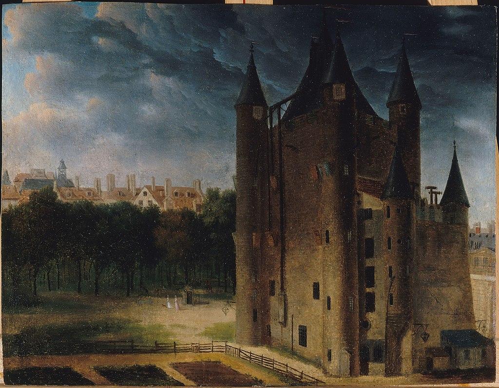 Вид на башню Тампля. 1795