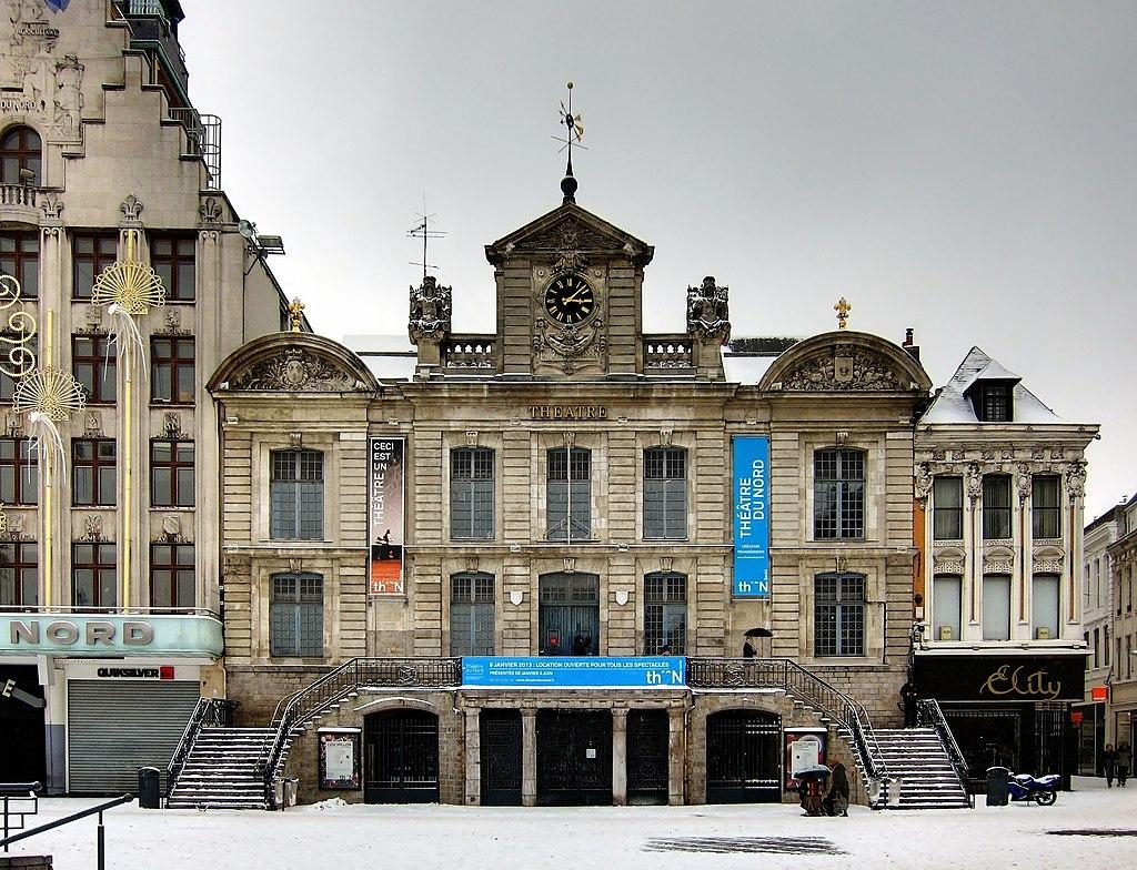 Театр Комедии в Лилле (в настоящее время Северный театр). Современный вид